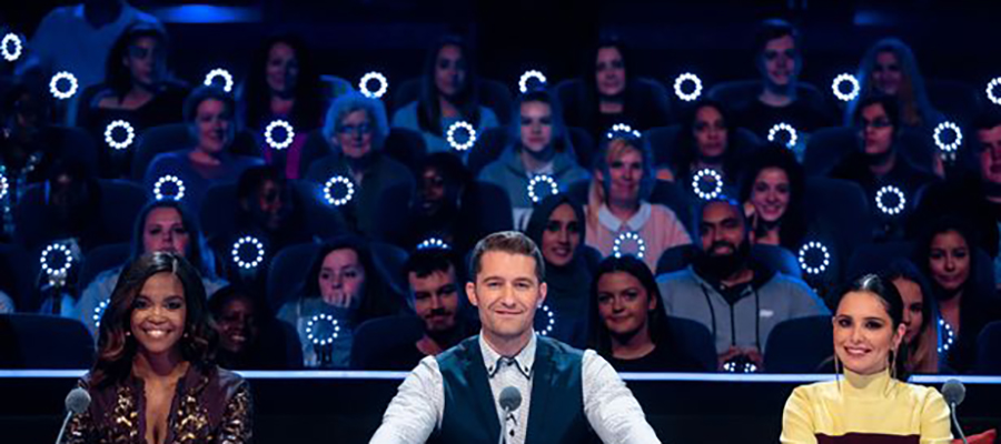 ITV The Greatest Dancer TV show - seating by GL events UK