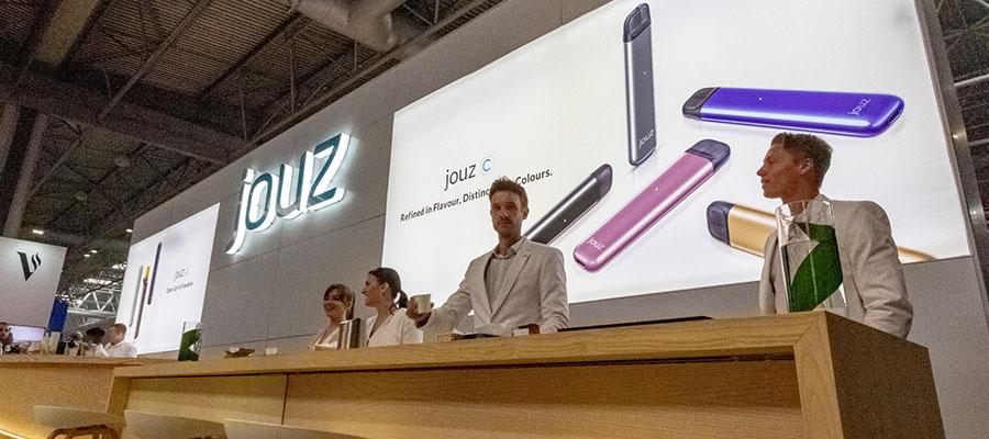 jouz exhibition stand