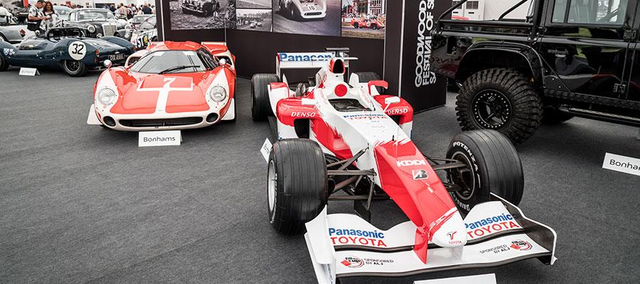 Motorsport events - GL events UK